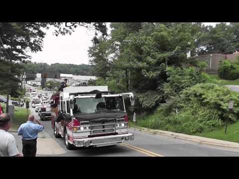 "Procession for Fallen Firefighter  ""Capt.Jeff Bowen"""