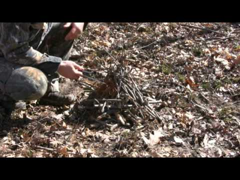 How To Build a Self-Feeding Fire - Wilderness Survival Skills