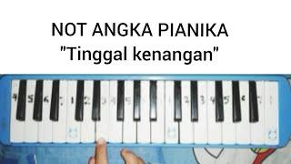 "NOT ANGKA PIANIKA ""Tinggal Kenangan"" || Belajar bermain pianika"
