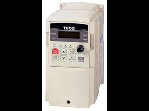 Programming a teco cv7300 vfd for a new 3ph motor youtube programming a teco cv7300 vfd for a new 3ph motor cheapraybanclubmaster Images