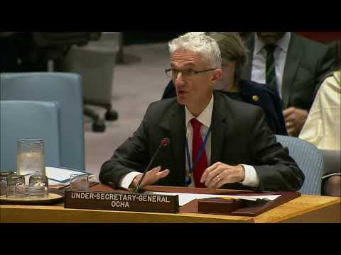 Mark Lowcock (OCHA) on the situation in Syria - Security Council, 8117th meeting