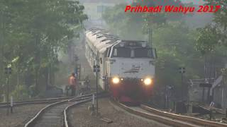 KA Malabar & Mutiara Selatan Berjalan Langsung Stasiun Nagreg