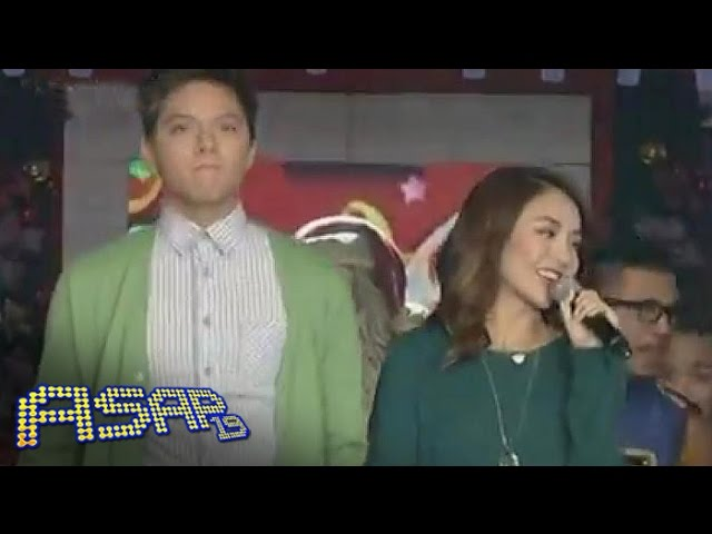 Kathniel opens ASAP with 'Jingle Bells'