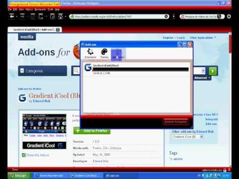 instalar temas no netscape navigator