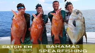 Bahamas Spearfishing and Shark Attack 2016 HD