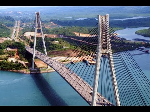 Barelang Bridge on Batam Island - Wonderful Indonesia (Tourism)
