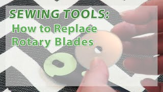 Replacing Rotary Cutter Blades