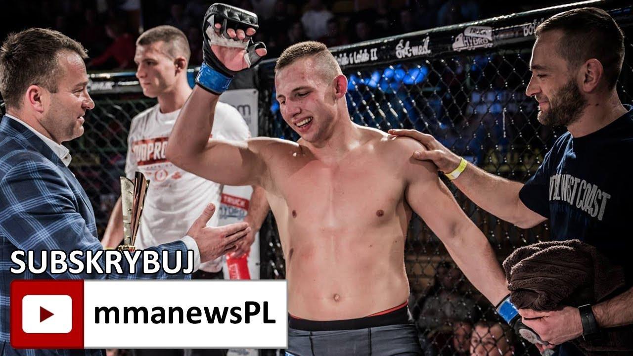 """Adrian Bartosiński: """"Nie czułem żadnej presji w walce."""""""