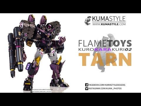 Toy Review: Flame Toys Kuro Kara Kuri 02 Tarn