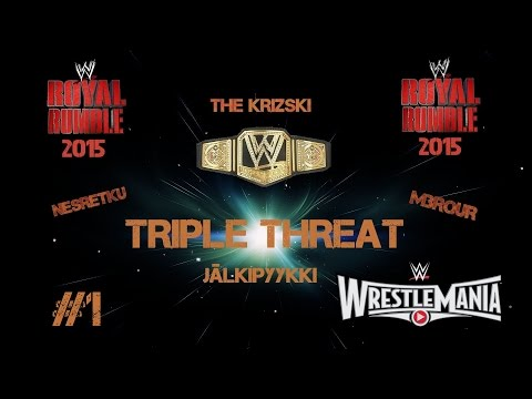 The Krizski, NESRetku & M3RQuR - Jälkipyykki WWE Royal Rumble 2015 #1