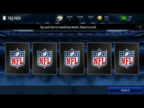 Madden Mobile 18–A little talk and opening Gameday Packs with 10 Pro Packs
