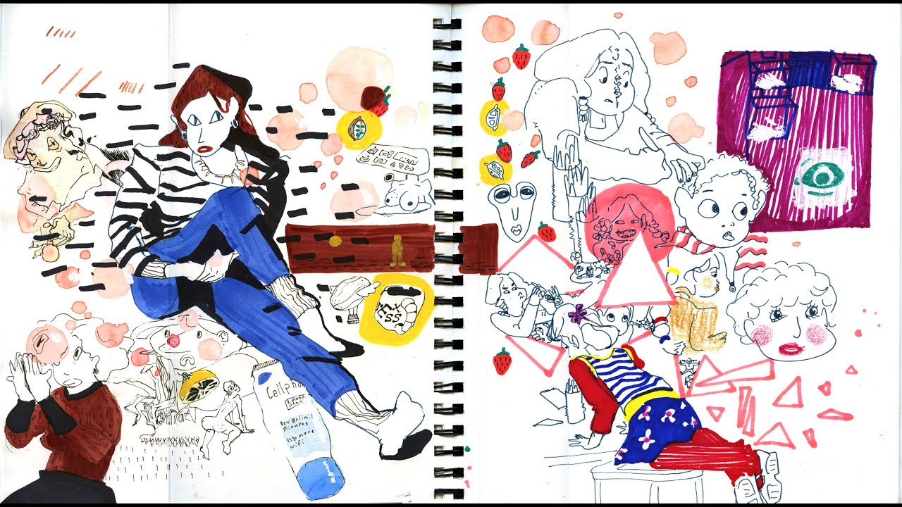 Character Design Sketchbook : Accepted calarts sketchbook character animation youtube