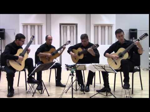 Alachua Guitar Quartet - Libertango
