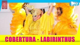 Cobertura com Leonora (Léo Áquilla) na Labirinthus - Show + Entrevista   DNA da Balada
