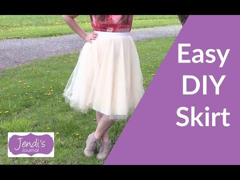 How To Make Tulle Skirt