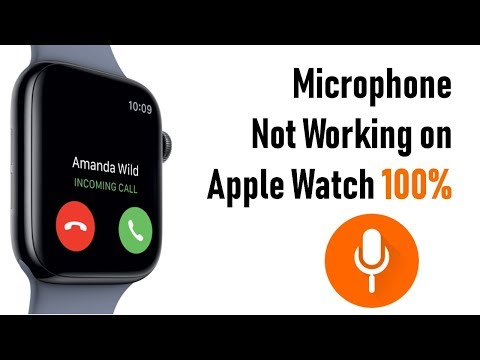 Apple Watch Microphone Not Working On Series 4/ 3 Call, Dictation And More