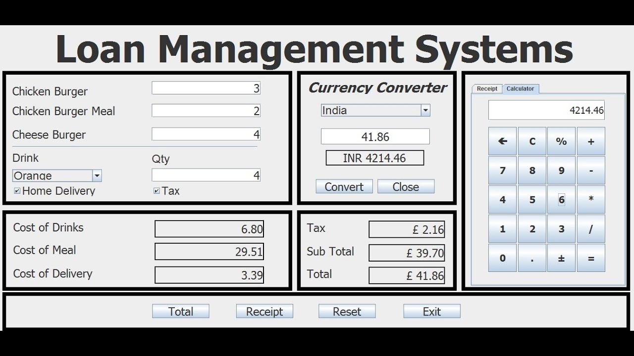 How to Create Restaurant Management System with Java