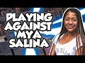 SplashTV Vs Mya Salina - (Must Watch) NBA 2K18!!!