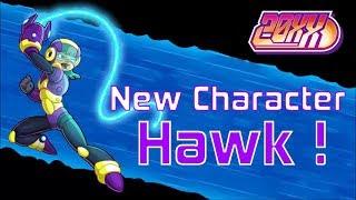 NEW CHARACTER ! HAWK ♥ 20XX DLC + Update !