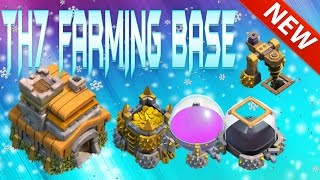 """Clash Of Clans - """"insane"""" Town Hall 7 Farming Base/ Th7 Farming Base """"new Update"""" + Defensive Proof!"""