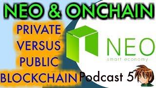 Neo News Private vs Public Blockchains. Centralised blockchain debate. Neo is a leader