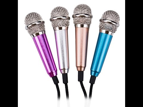 Mini micrófono para smartphone, cámara, PC y laptop.Unboxing yReview.Smule Karaoke