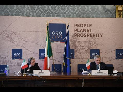 PRESS CONFERENCE 2st G20 Finance Ministers & Central Bank Governors meeting (April 7, 2021)
