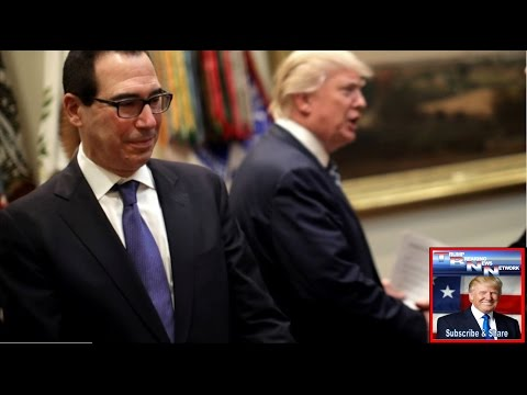 Mnuchin Says Trump Is Absolutely Not Trying To Talk Down The Dollar