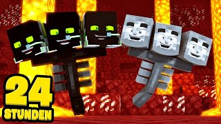 24 STUNDEN als WITHER LEBEN! - Minecraft [Deutsch/HD]