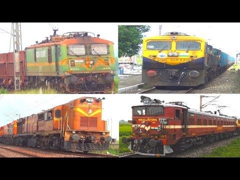 [11 in 1] Best of Freight Trains | Indian Railways
