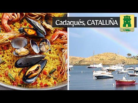 The Local Spanish Seafood Paella From Cadaqués, Cataluña.