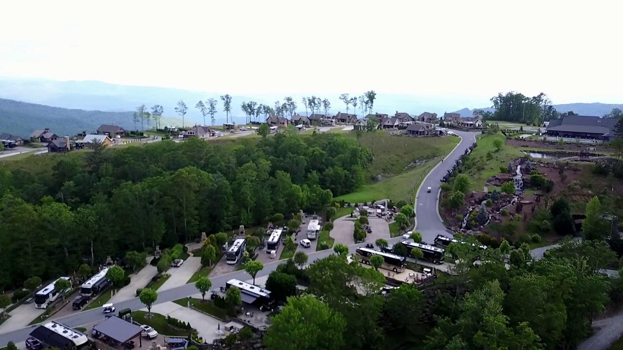 mountain falls luxury rv resort smokey mountains nc - youtube