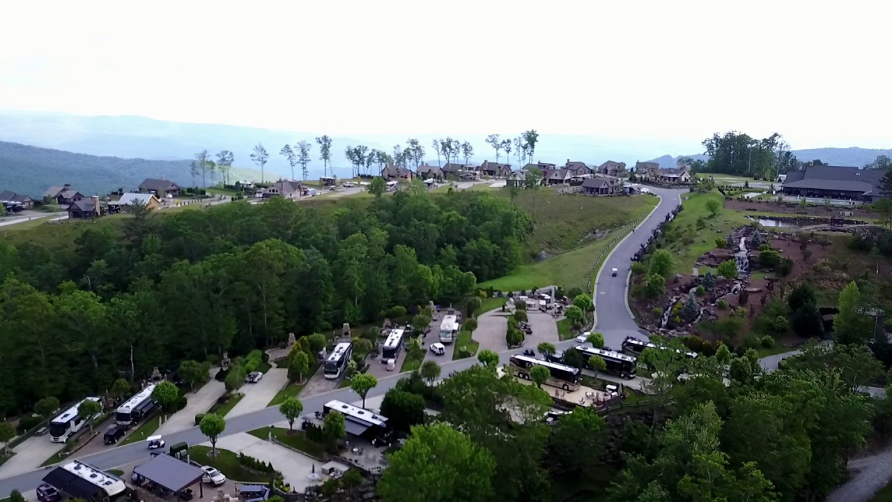 Mountain Falls Luxury RV Resort Smokey Mountains NC