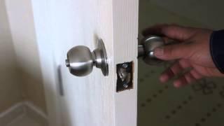 Kilitli Oda Kapısı Nasıl Açılır (Amerikan Topuz Kilit)Oda Kilidi Nasıl Açılır?
