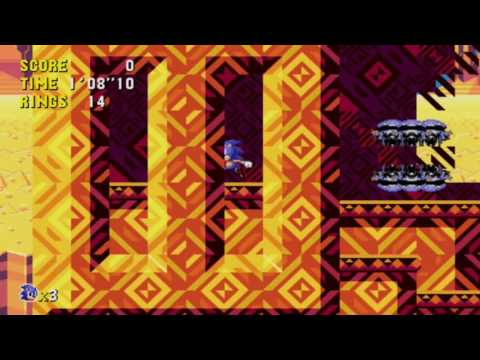 Sonic CD Desert Dazzle Zone (Unreleased)