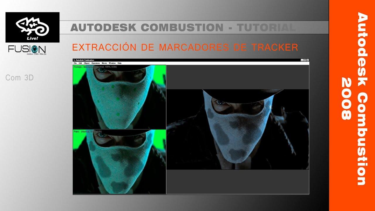 tutorial autodesk combustion 2008 remover puntos de tracker youtube rh youtube com