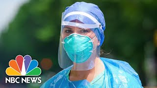 Health Care Workers In Midwestern Hotspots Say Mask Is 'Most Important Tool' Against Covid-19