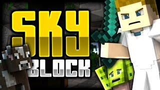 Minecraft: HE KILLED BOBBY?! | Sky Block - Ep: 01 W/ Boskie