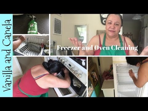 What I clean once a month - Cooker & Freezer - Part 2