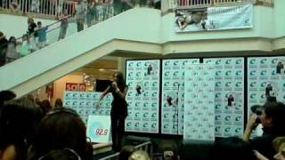 Jessica Mauboy LIVE @ Centro Galleria, Perth Jan 2009 PART1 (Running Back, Been Waiting)