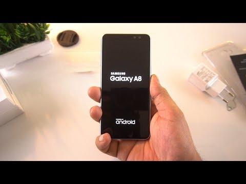 Samsung Galaxy A8 Unboxing [Urdu/Hindi]