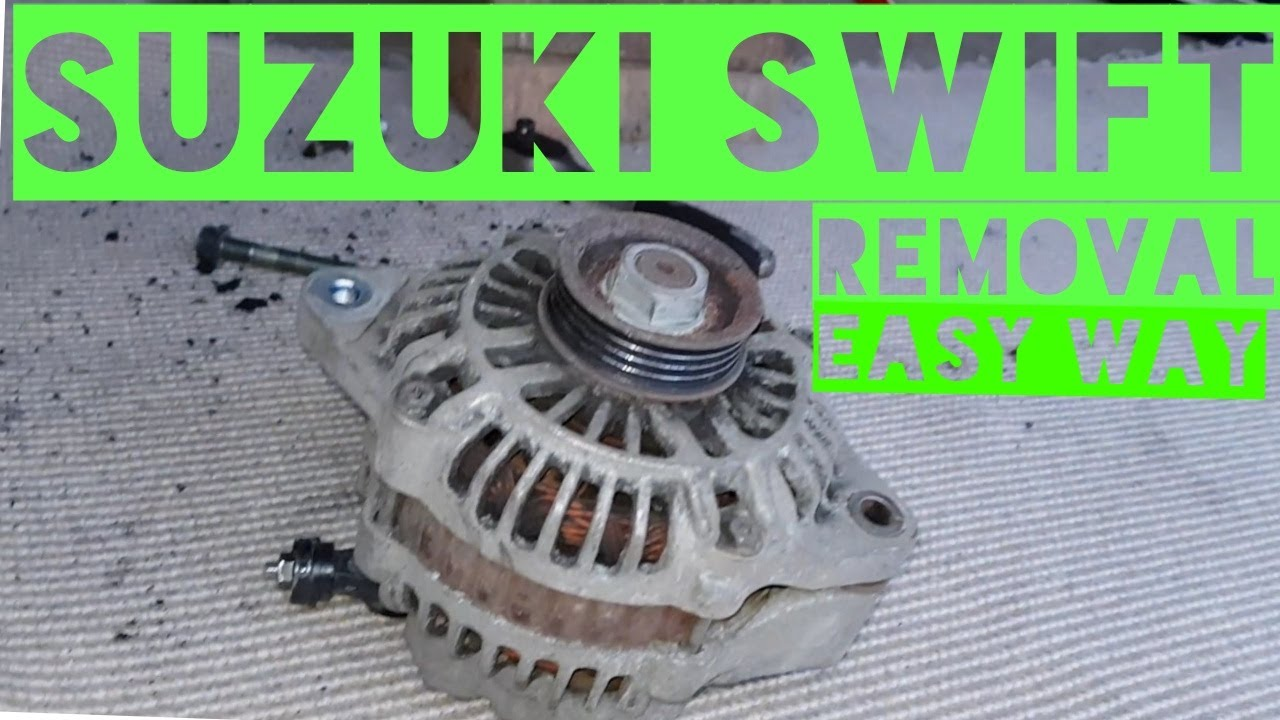 hight resolution of how to remove suzuki swift alternator easy way