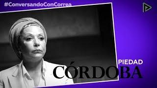 'Conversando con Correa': Piedad Córdoba