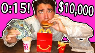 Eat The Happy Meal In 15 Seconds - Win $10,000