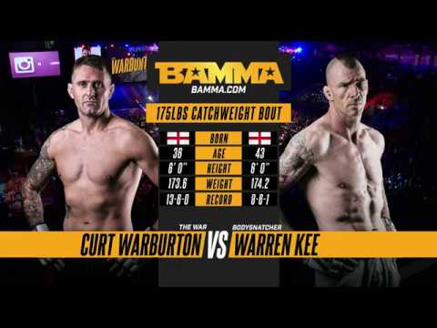 BAMMA 33: Curt Warburton vs Warren Kee