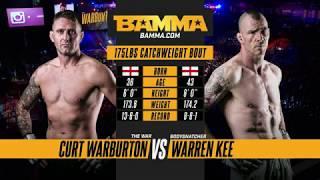BAMMA 33: Curt Warburton vs Warren Kee