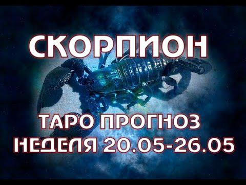 СКОРПИОН гороскоп неделя 20-26 МАЯ прогноз полнолуния 19 мая влияние на неделю