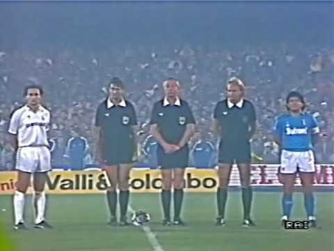 NAPOLI Vs REAL MADRID 1987 (andata E Ritorno)
