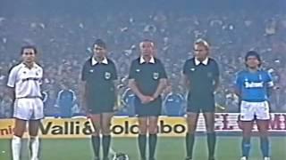 NAPOLI vs REAL MADRID 1987 (andata e ritorno) streaming