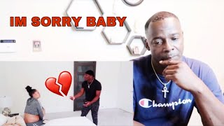 THE PRINCE FAMILY I CHEATED ON  DAMIEN & BROKE UP WITH HIM PRANK **HE REALLY LEFT ME**